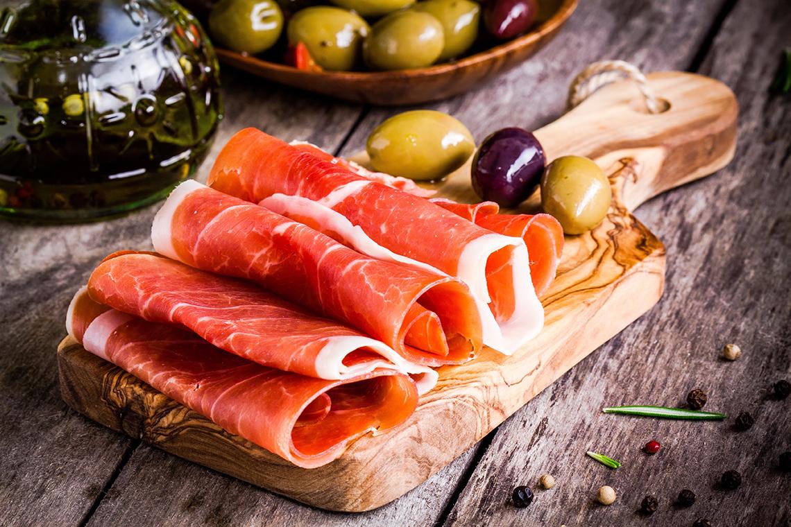 10 parole per spiegare il prosciutto di Parma